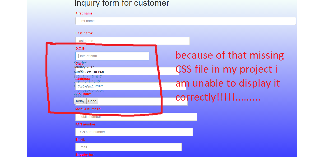 Regarding about the folowing CSS file - jQuery Forum