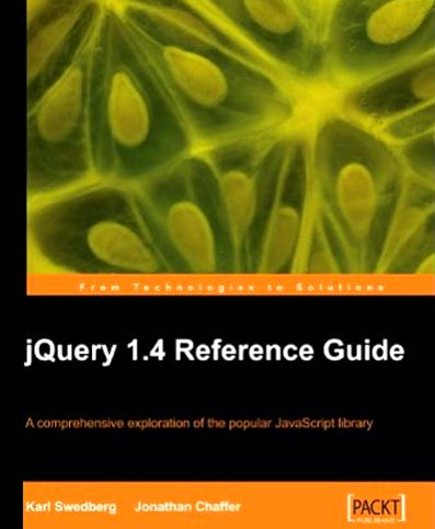 Learning jQuery 1.4 Reference Guide