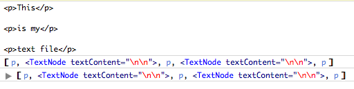 Creating a jquery object with plain-text html string