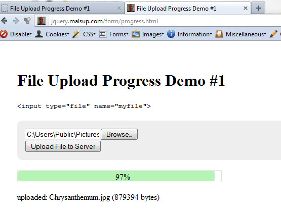 Powerful file upload plugin for bootstrap jquery fileupload.