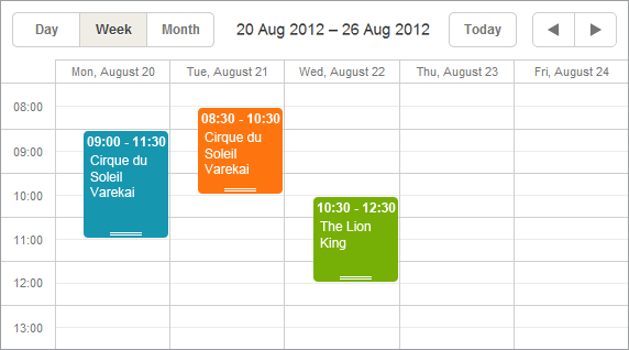 Events Calendar That Works With Java Jquery Forum