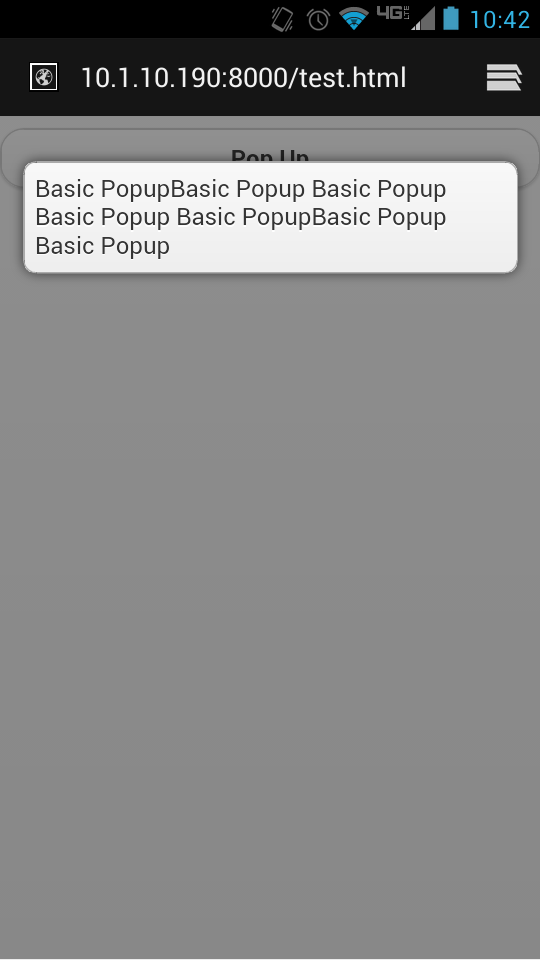 White space created after popup slides in - jQuery Forum