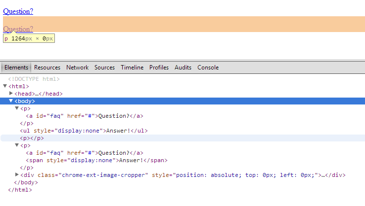 Toggle not working - jQuery Forum