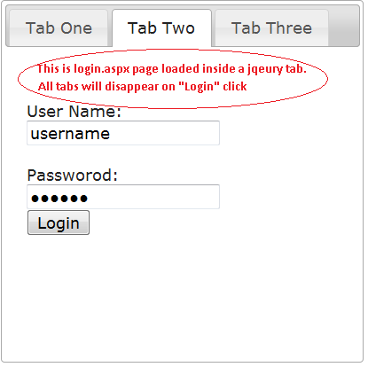 jQuery Based Tab Controls Loading  aspx Pages - jQuery Forum