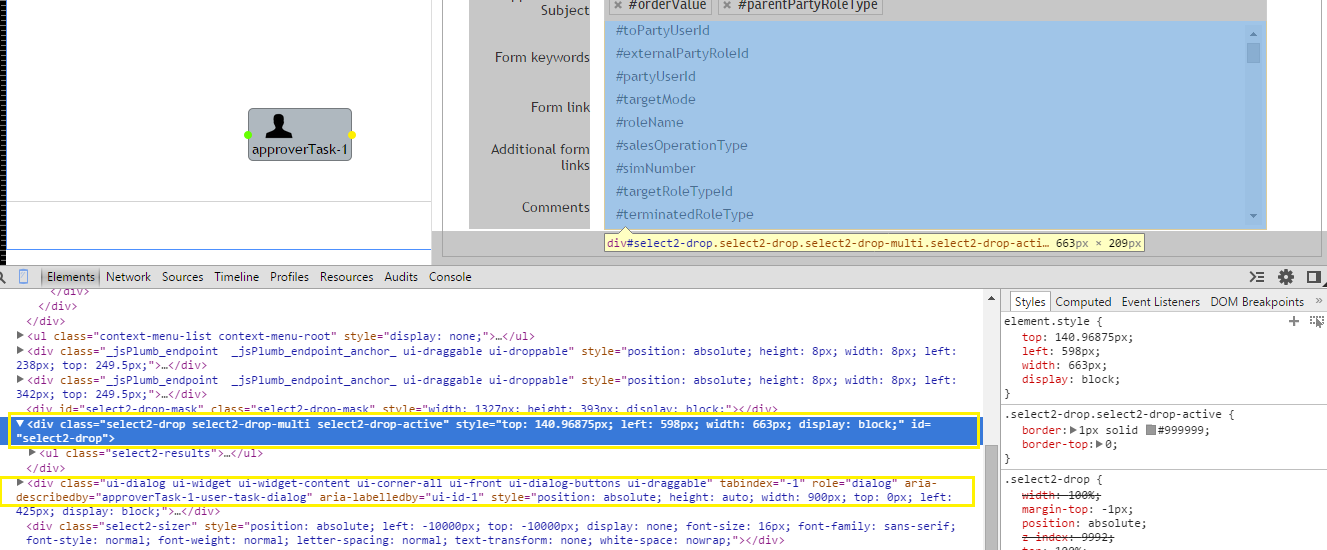 Select2 Tags Not working in jQuery Model Dialog - jQuery Forum