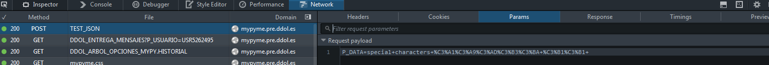 ajax - Issue with special characters (accents and ñ) - jQuery Forum
