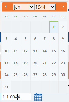 jQuery datepicker entered invalid date is resolved to