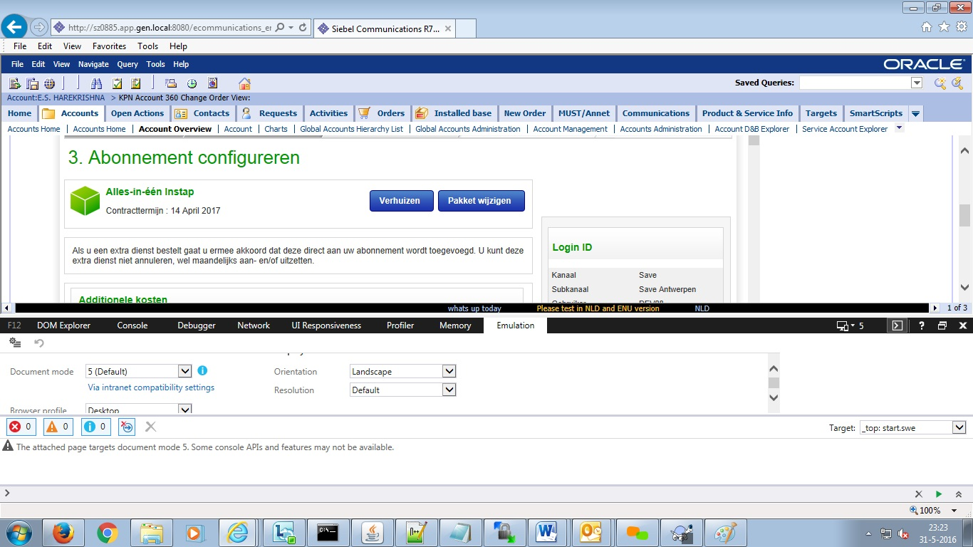 Jquery validation not working inside IFrame in IE11 same
